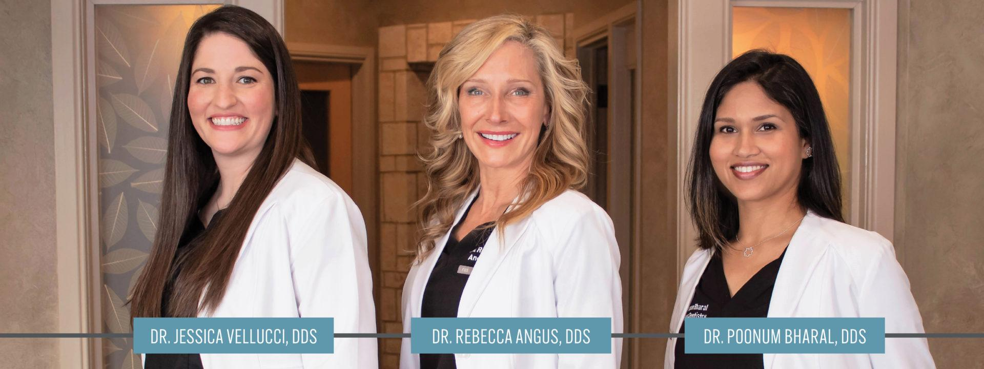 Dr. Jessica Vellucci, Dr. Rebecca Angus, Dr. Poonum Bharal