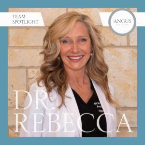 Headshot: Dr. Rebecca Angus, Dentist in Midlothian, Virginia. Experienced cosmetic dentistry