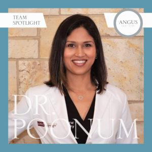 Headshot: Dr. Poonum Bharal, Dentist in Midlothian, Virginia. Experienced Pediatric dentistry and sedation dentistry. Received national award while attending VCU dental school
