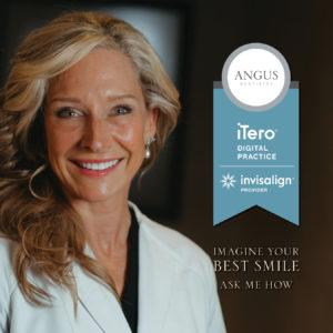Dr. Angus Smiling Invisalign Itero Practice